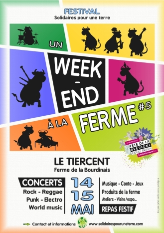 UN WEEKEND A LA FERME 2016 - Flyer A5 recto