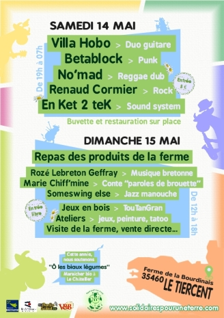 UN WEEKEND A LA FERME 2016 - Flyer A5 verso