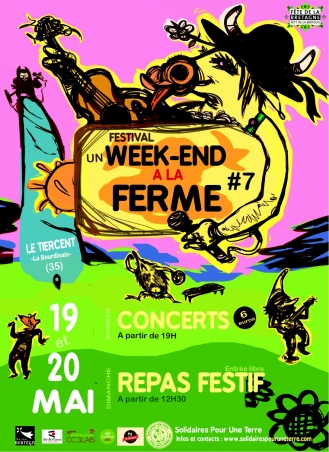 Un week-end à la ferme 2018 [flyer recto]